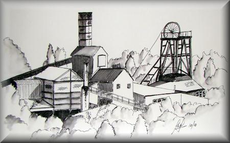 Coal Mining Drawings National Coal Mining Museum