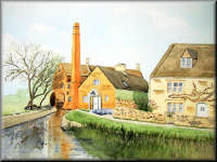 Water Mill, Lower Slaughter, The Cotswolds