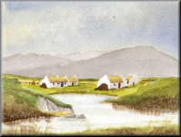Cottages by Pond
