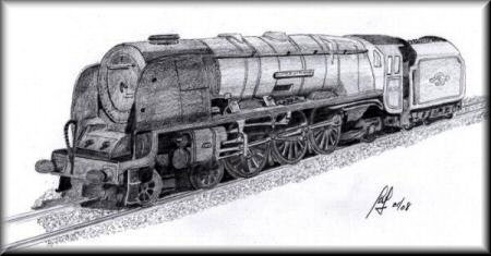 The Duchess of Montrose - a pencil drawing by John W. Johnston