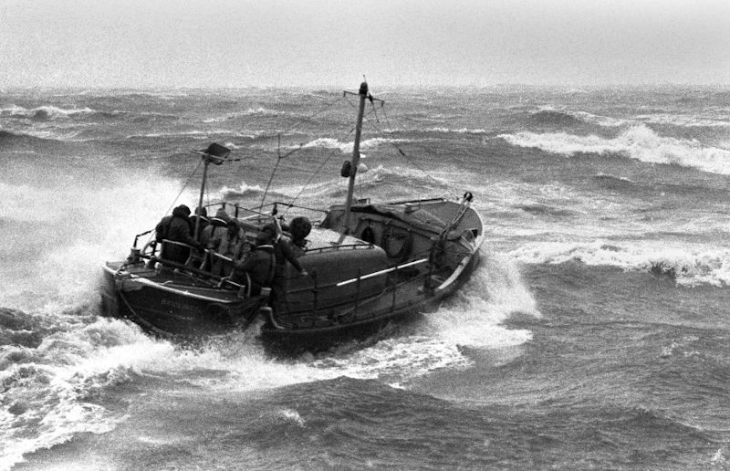 Photo of Bridlington Lifeboat that will be used for reference