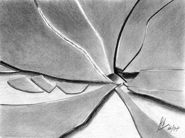 Pencil drawing gallery for Mirror drawing