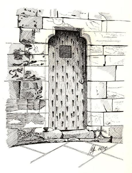 door pencil drawing forced perspective pen and ink gallery
