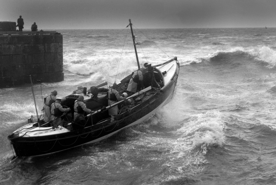 Photo of Flamborough Lifeboat that will be used for reference