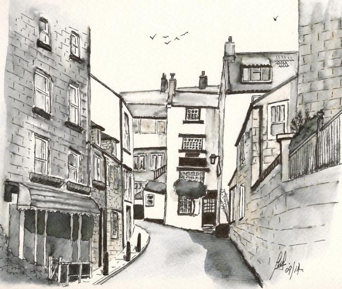 Pen And Wash Gallery